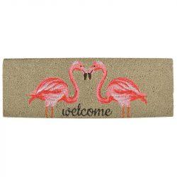 Flamingós lábtörlő