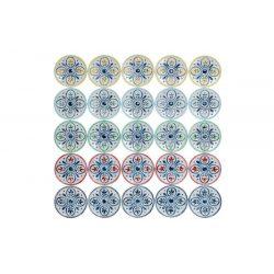 DP-155851 - DP-155851 - Dekoráció Falra Fém 68X4,5X68 Népies Fehér