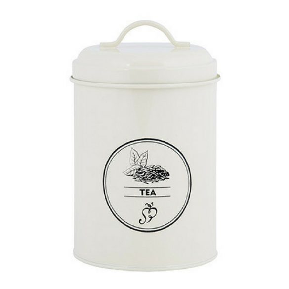 Teafű tároló doboz
