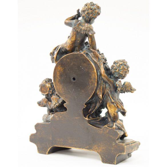 Antik stílusú kandalló óra