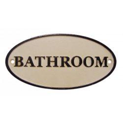 Bathroom tábla