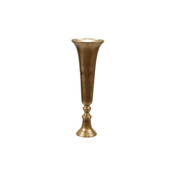 Alumínium váza arany