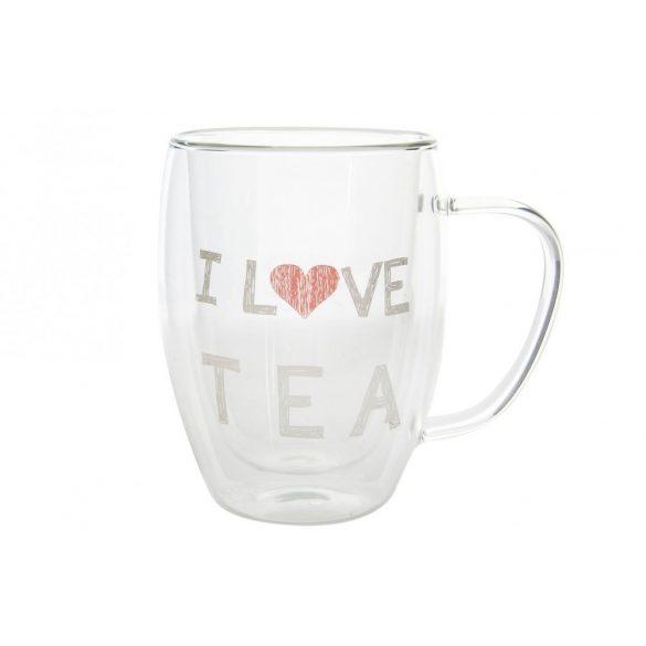 I LOVE TEA bögre