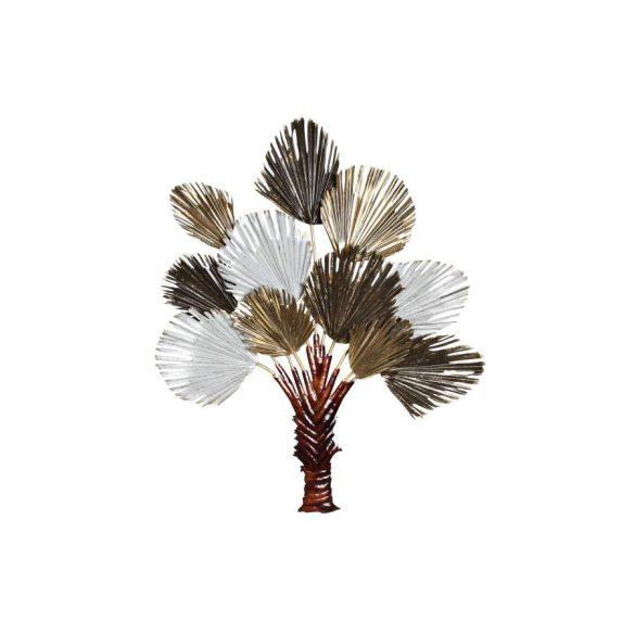 Dekoráció falra fém 97x8,5x118 csokor virágok