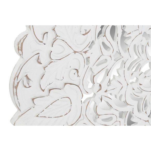 Dekoráció falra mdf üveg 90x2x90 decape fehér