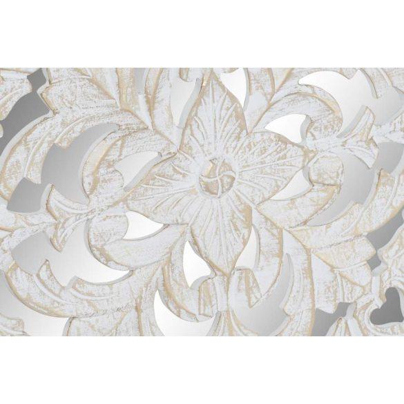 Dekoráció falra mdf üveg 120x2x120 fehér