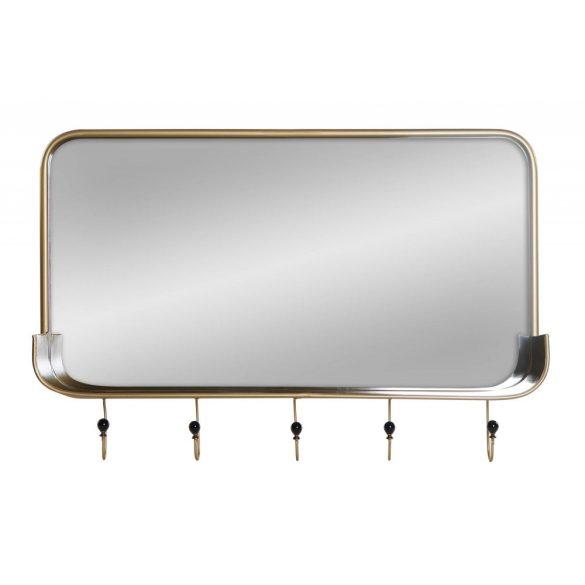 Tükör fém 92,5x17,5x63,5 aranyozott