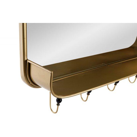 ES-171141 - Tükör fém 92,5x17,5x63,5 aranyozott