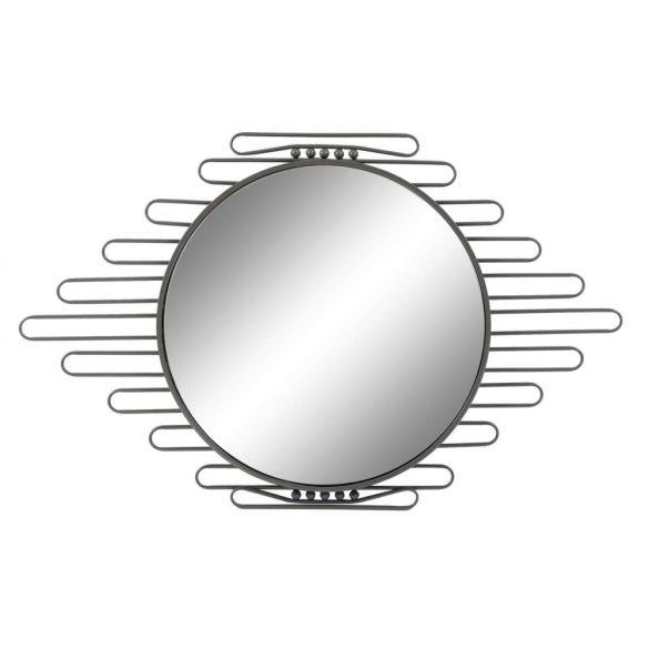 Tükör, fém, 57,5x3,5x84,5, fekete