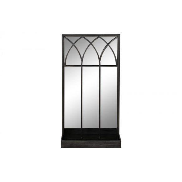 Tükör fém tükör 40x12x80 fekete