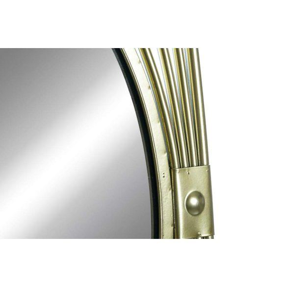Tükör fém üveg 41x2x98 aranyozott