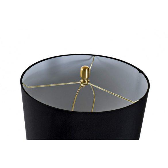 LA-169942 - Lámpa asztali üveg fém 38x38x70 aranyozott