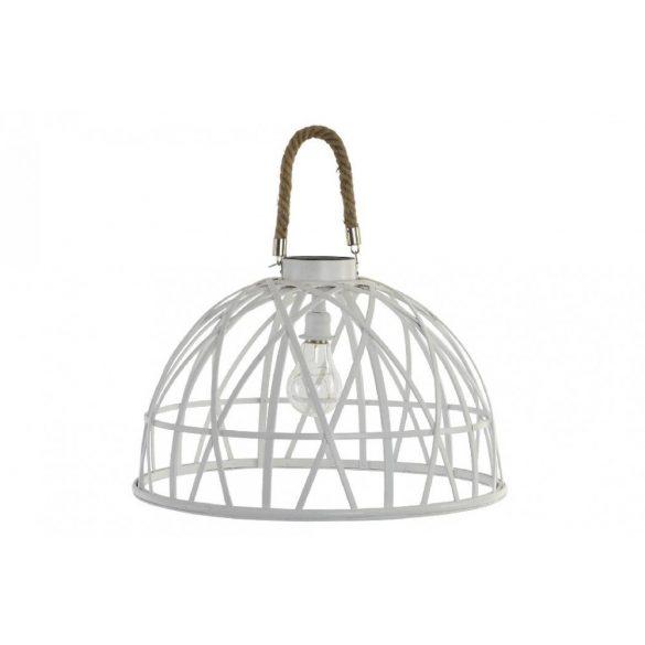 Lámpa mennyezeti bambusz led 43x43x37 szolar fehér