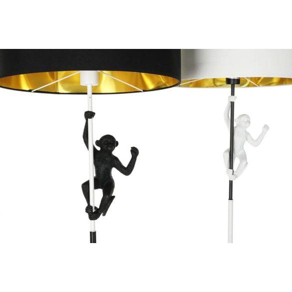 Lámpa álló műgyanta 45x45x165 majom 2 féle