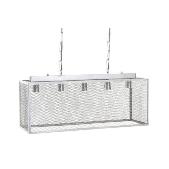 Lámpa mennyezeti fém 80x26x30 szürke