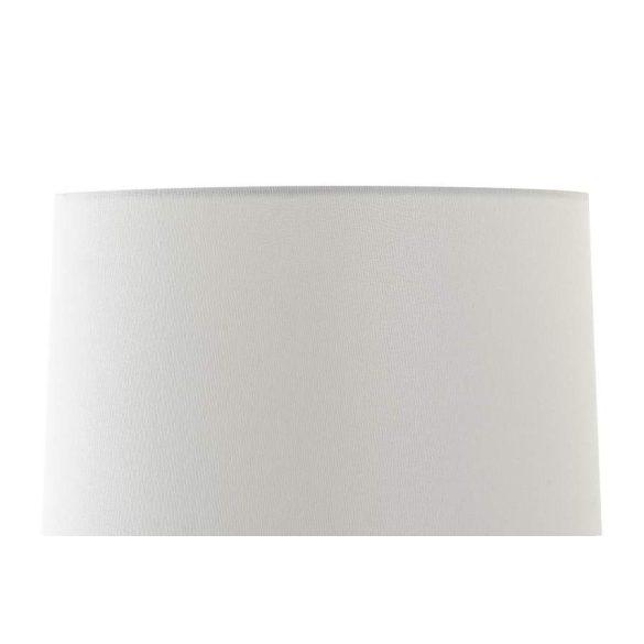 Lámpa asztali fém 40x40x65 fehér
