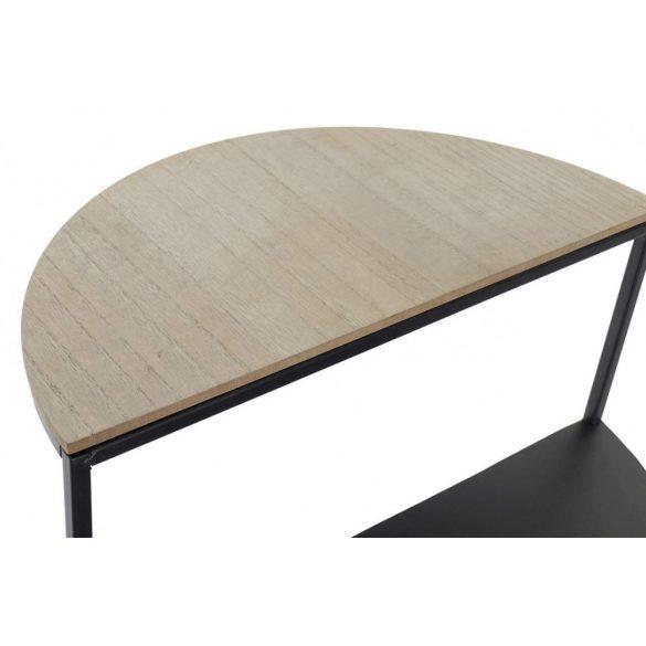 Asztal telefonos vas mdf 40x40x56 polc