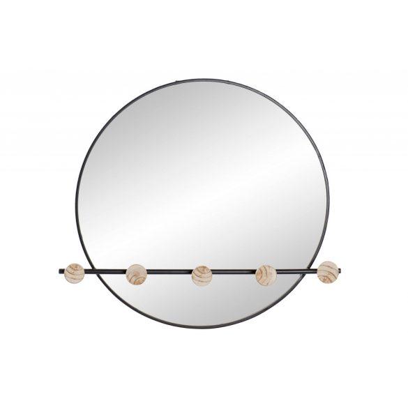 Tükör vas tükör 61x8x58 akasztó fekete