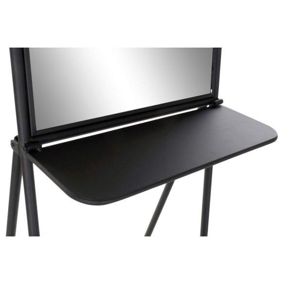 Polc vas tükör 41x63x166 tükör fekete