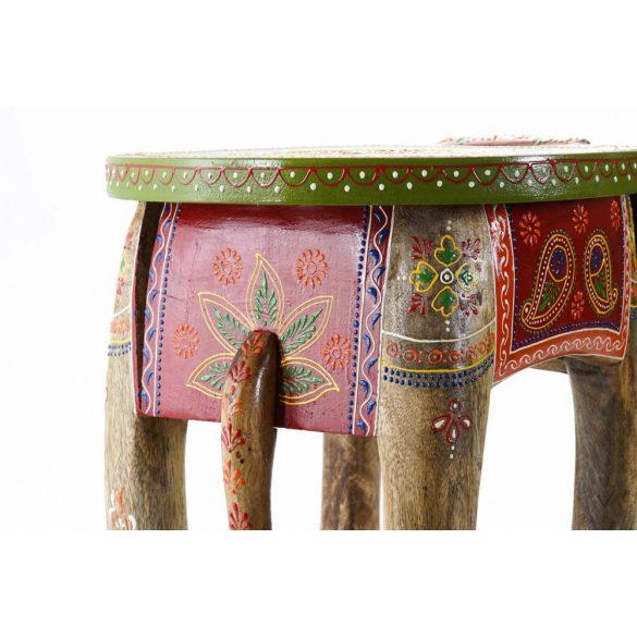 Asztal telefonos mango akril 45x34x34 elefánt
