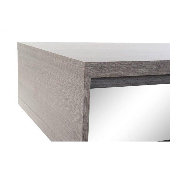 Asztal kávés melamin tükör 140x70x40 lakk