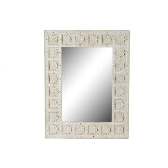 Tükör, fa, 120x5x82, fehér