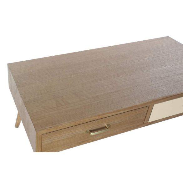 Asztal kávé-s melamina fém 120x60x46,5 szürke