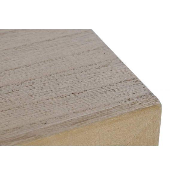 Fiókos szekrény melamina fém 76x34x93,5 szürke
