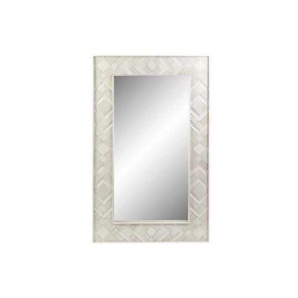 Tükör mango 154x4x92 rombusz fehér