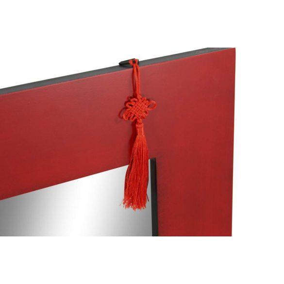 Tükör fenyő mdf 70x2x90 piros