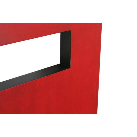 Ágytámla ágy fenyő mdf 160x4x120 piros