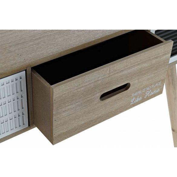 Íróasztal fa 100x50x75 természetes barna