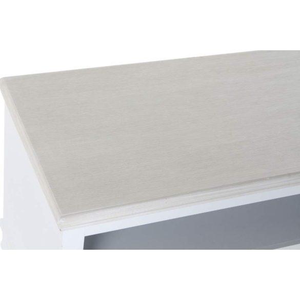 Asztal kávé-s mdf 100x42x61 fehér