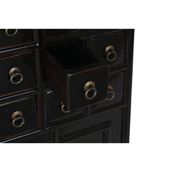 Fiókos szekrény szilfa 55x32x98 20 fiókos