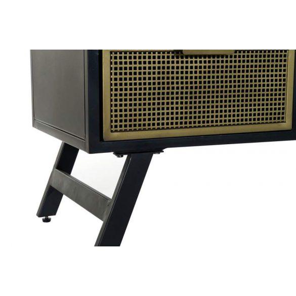 Szekrény tv-s fém 125x40x60