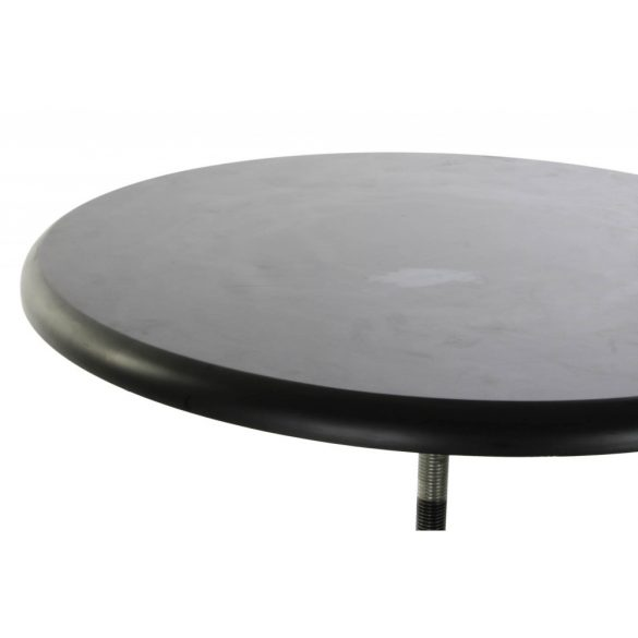 Asztal telefonos fém fa 60x60x105