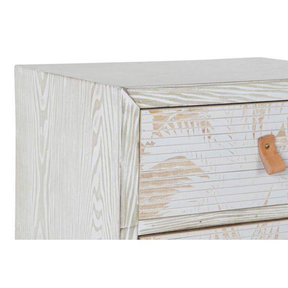 Fiókos szekrény fa bambusz 48x34,5x73,5 pálma