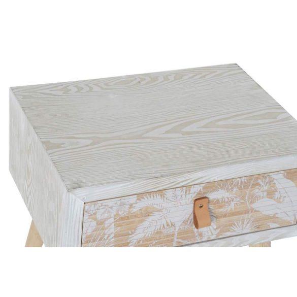 Éjjeli szekrény fa bambusz 48x35x50,5 pálma