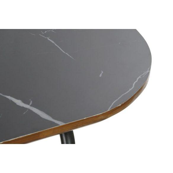 Konzol vas 90x30x79,5 fekete