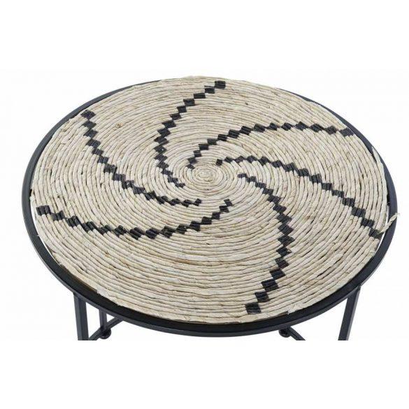 Asztal telefonos szett 2db-os seagrass vas 46x44x50