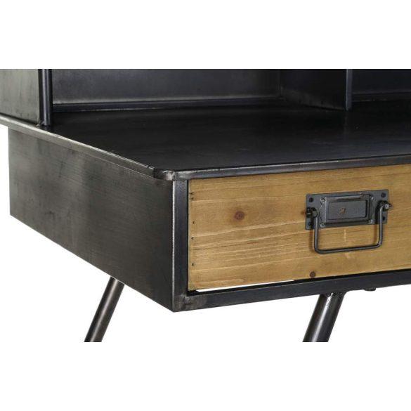 Íróasztal fém fa 135x60x95