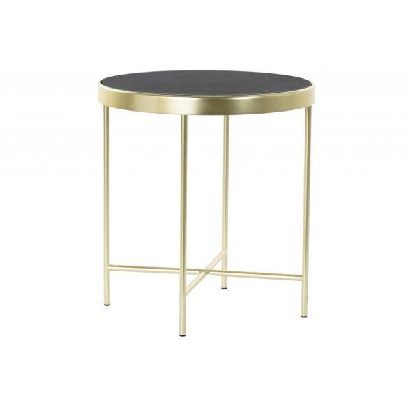 Asztal telefonos acél üveg 42x42x46 5 mm.