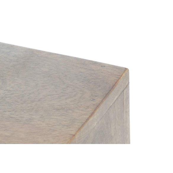 Bútor tv-s mango fém 125x40x55 természetes