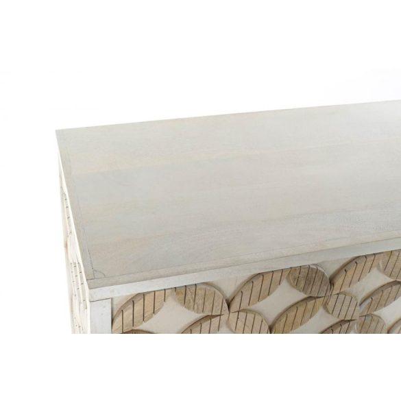 Bútor mango réz 93x41x114 cross fehér