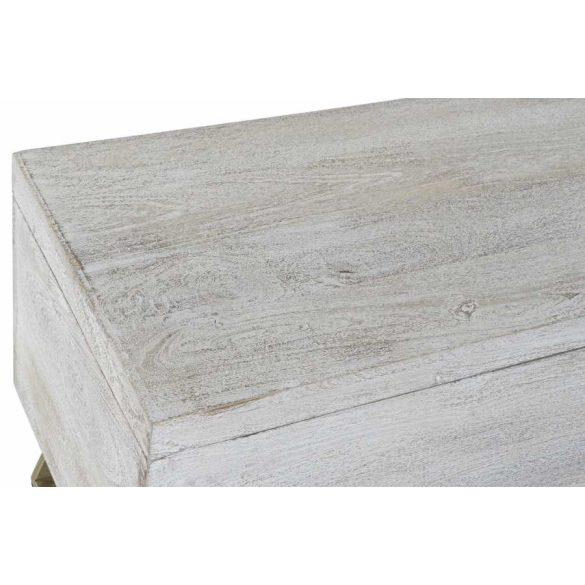 Láda fa fém 116x40x50